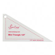 "Sew Easy Mini Triangle 120 Degrees Ruler 4.6"" x 2.5"""